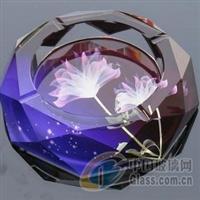 水晶烟缸,水晶器皿,水晶礼品