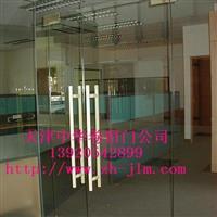 天津中空玻璃门安装