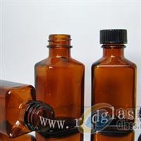30ml棕色方形玻璃瓶