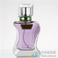 精白料玻璃香水瓶