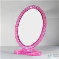 水晶椭圆台镜