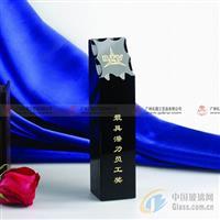 广州水晶奖杯,年终优秀员工奖杯