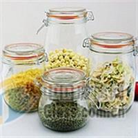 供应玻璃瓶 玻璃瓶罐 储藏罐