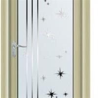佛山豪华铝合金茶镜玻璃门