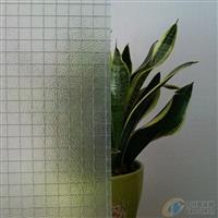 香梨方格-夹丝玻璃-防火玻璃