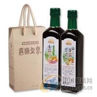 生产供应墨绿色方形500ml橄榄油瓶带盖4件套