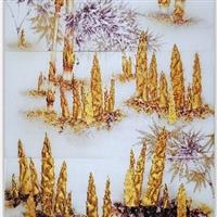 广东粤龙艺术玻璃深雕上彩系列