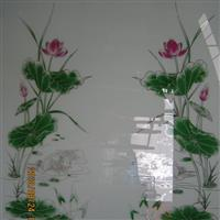 供应3.8mm亮银工艺玻璃/河北沙河亮银工艺玻璃价格