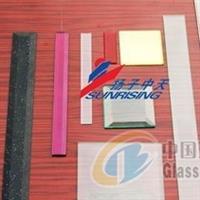 水晶三角条玻璃磨边机生产线