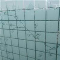 供应3.5mm丝印玻璃