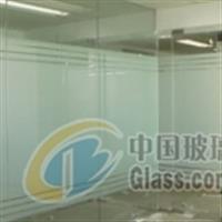 办公室磨砂贴膜,玻璃防撞磨砂条