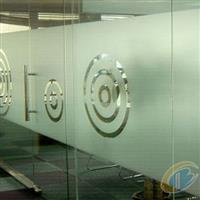 办公室玻璃腰线贴防撞条