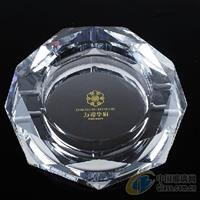 水晶影像个性水晶礼品烟灰缸批发