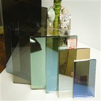 供应4mm粉色镀膜玻璃