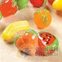 供应玻璃水果挂件