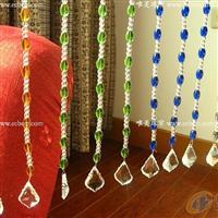 水晶珠帘门帘装饰