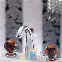 供应家具水晶玻璃拉手配件