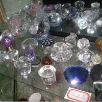 高档水晶玻璃拉手水晶家具配件