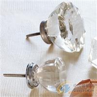 厂家直销水晶玻璃拉手家具拉手