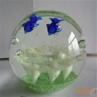 琉璃礼花球 工艺品球 玻璃花球