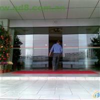 供应天津玻璃门安装与维修,安装感应玻璃门,福瑞源防火玻璃门