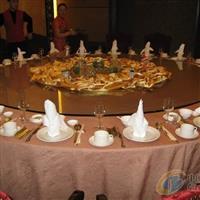 钢化圆桌面 餐桌转盘 酒店用餐桌