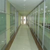 南通双层钢化中空百叶玻璃隔断