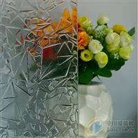 中国压花玻璃-玫瑰
