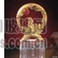 恋爱纪念品水晶影像水晶奖杯定制