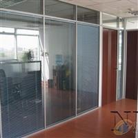 苏州钛镁合金中控百叶玻璃隔断