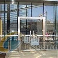 海淀区学院路安装钢化玻璃门