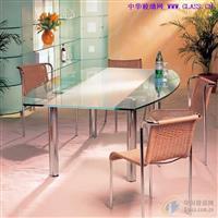 三明家具玻璃钢化玻璃餐桌玻璃