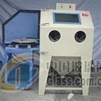 玻璃模具喷砂清洗设备,全自动打砂机