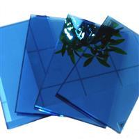 供应宝石蓝玻璃 自然绿镀膜玻璃 深灰玻璃