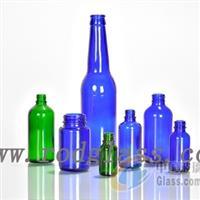 蓝色(料)玻璃瓶