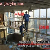 济南建筑玻璃贴膜济南单向透视膜