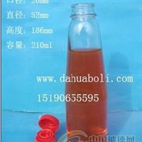 210ml锥形麻油玻璃瓶,橄榄油玻璃瓶批发