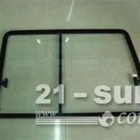 供应叉车驾驶室钢化玻璃