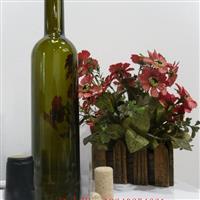 墨绿色红酒瓶 品牌洋酒瓶