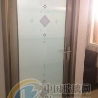 专业生产平开门 移门艺术玻璃