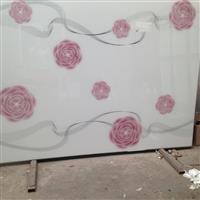 衣柜门 浴室门超白烤漆艺术玻璃