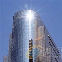 石家庄观光电梯建筑玻璃贴膜