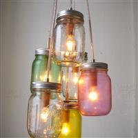 玻璃瓶工艺品瓶 掉环玻璃瓶