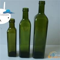 墨绿色橄榄油瓶500毫升