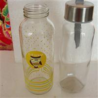 玻璃瓶透明玻璃高鹏硅产品水杯