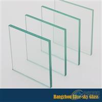 蓝天夹胶钢化玻璃