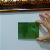 供应4-8毫米绿色玻璃 绿色镀膜玻璃厂