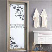 简约风格家居浴室卫生间艺术玻璃