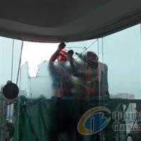 广州更换高层玻璃 破损钢化玻璃