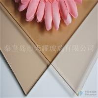 供应12mm粉色浮法玻璃